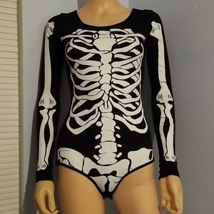 🍁PRETTY LITTLE THING SKELETON HALLOWEEN COSTUME